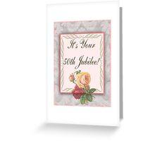 Nun 50th Golden Jubilee Greeting Card