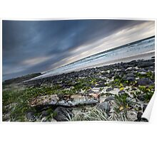 Sunrise over Sharpes Beach Poster