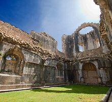 Tomar. Convent of Christ . Sala do Capítulo by terezadelpilar~ art & architecture