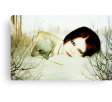 All she has is within Canvas Print