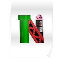 Geek letter N Poster