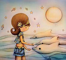 dolphin paradise by © Karin (Cassidy) Taylor