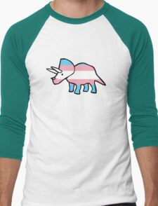 Transceratops Men's Baseball ¾ T-Shirt