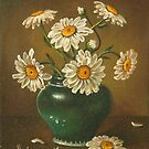 Daisies in a vase by dusanvukovic