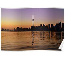 A Night On Lake Ontario Poster