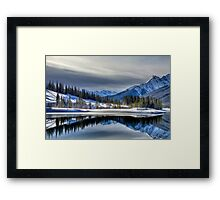 Cross Reflections Framed Print