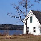 Old cottage on Maine Coast by Patty Gross