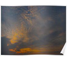 Cloud sigh Poster