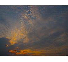 Cloud sigh Photographic Print