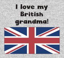 I Love My British Grandma One Piece - Short Sleeve