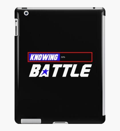 Half the Battle iPad Case/Skin