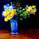 Blue Vase  by Bob Abrahams