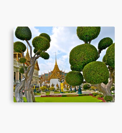 Grand Palace, Bangkok, Thailand. Canvas Print