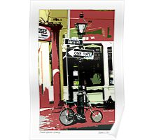 French Quarter Grocery Poster