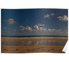 Ethel Beach Reflections.  Moonlight Poster