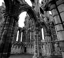 Whitby Abbey by Elizabeth Tunstall