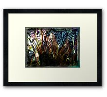 The Compass leads the way & I am mesmerized Framed Print