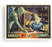The Mummy (Wide) Canvas Print
