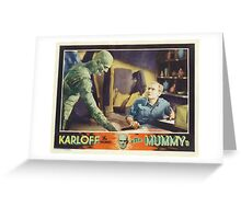 The Mummy (Wide) Greeting Card