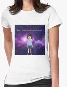 Tina Belcher Galaxy Womens Fitted T-Shirt