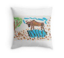 ART FUN by Cheryl D rb-039 Throw Pillow