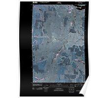 USGS Topo Map Washington State WA Chief Joseph Dam 20110425 TM Inverted Poster