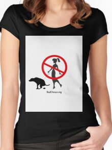 BadOwner.org Women's Fitted Scoop T-Shirt