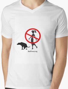 BadOwner.org Mens V-Neck T-Shirt