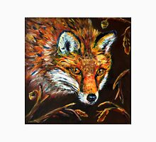 Red Fox in Autumn Fall Wildlife Woodland Animal Art Unisex T-Shirt
