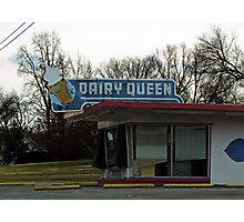 Vintage Dairy Queen Photographic Print