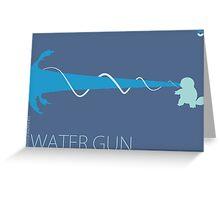 Water Gun Greeting Card