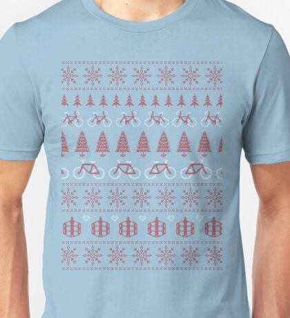 Christmas Jumper MTB Biking Unisex T-Shirt