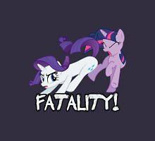Rarity vs. Twilight Sparkle - FATALITY! Unisex T-Shirt