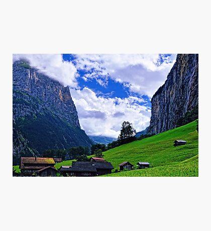 Lauterbrunnen Valley Photographic Print