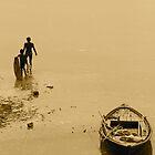 River Ganges, Varanasi by Joanne Rinaldi