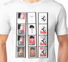 Test Strips Tee: Burlesque Rockabilly Propaganda Shirt Unisex T-Shirt