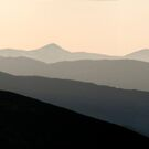 Ross-Shire Hills at the end of the day by Fraser Ross