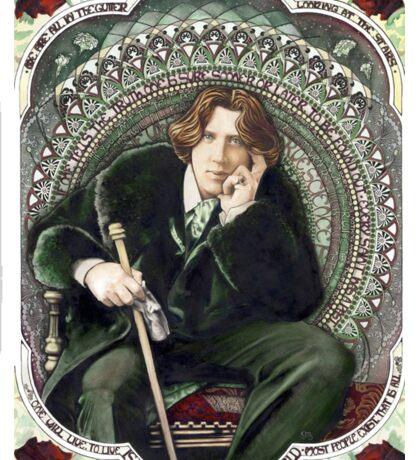 Oscar Wilde 2 Sticker