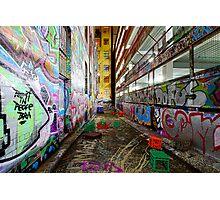 Urban Canvas Photographic Print