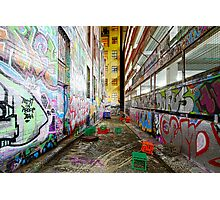 Street Canvas Photographic Print