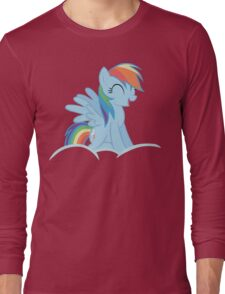 Rainbow Dash Cloud Long Sleeve T-Shirt