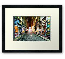 Street Gallery Framed Print