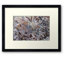 At The Geysers Framed Print
