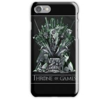 Throne of games iPhone Case/Skin