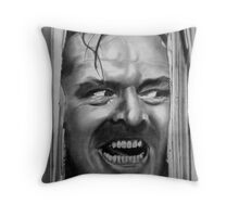 HEEEEERE'S JOHNNY!!! Throw Pillow