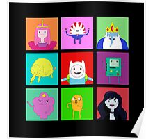 Adventure Time Portraits! Poster