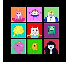 Adventure Time Portraits! Photographic Print