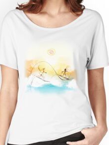 Surfs up Women's Relaxed Fit T-Shirt