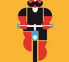 bicycle man by Marco Recuero