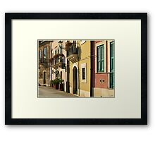 Sicilian Façade Framed Print